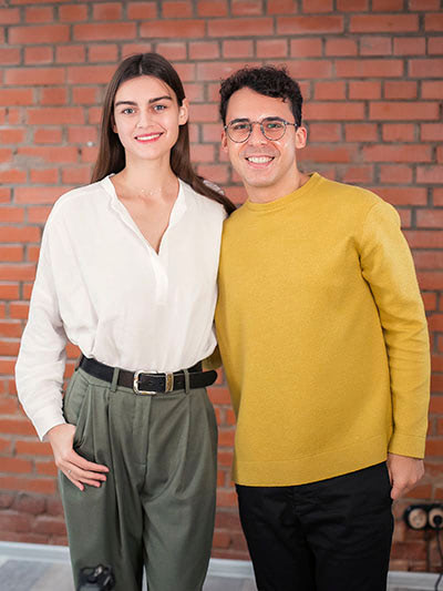 Дарья Сивелькина и Юрий Мурадян